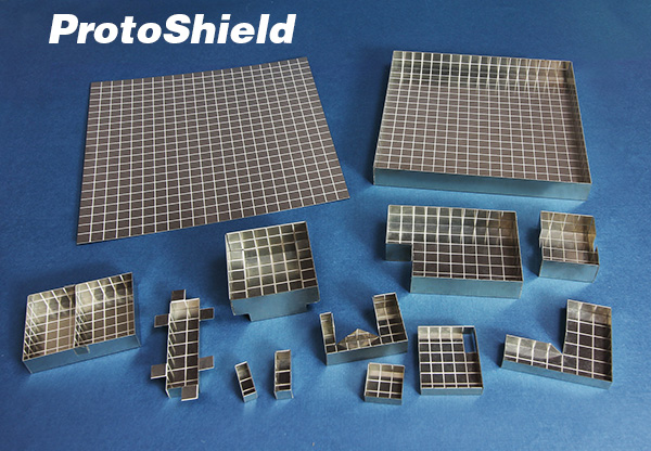 ProtoShield Sheets Can Be Formed into Board Level Shield Prototypes in Minutes
